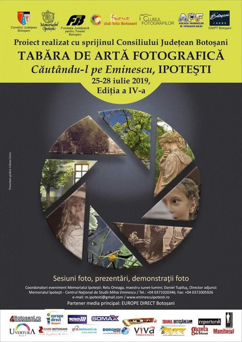 """Tabăra fotografică """"Căutându-l pe Eminescu"""", la cea de a patra ediție"""