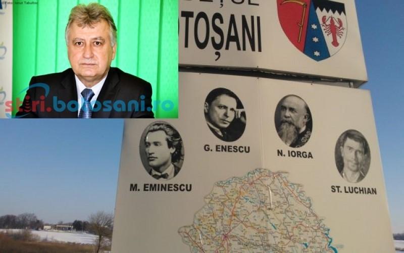 """Țâbuleac ii da peste nas lui Turcanu cu panourile din judet: """"Eu cand eram presedinte montam panouri cu Eminescu, Iorga, Enescu si Luchian, acum se promoveaza alte persoane"""""""