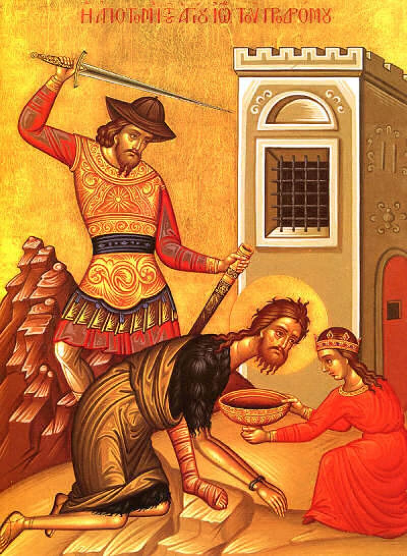 Tăierea Capului Sfântului Ioan Botezătorul, ultima mare sărbătoare a anului bisericesc