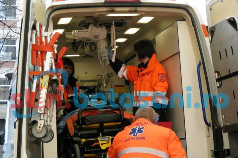 Tânăr adus la spital cu hemoragie, după un accident la locul de muncă!