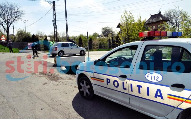 Tânăr care mergea pe marginea drumului, accidentat de un șofer beat și fără permis!