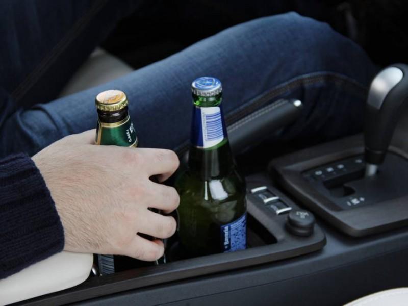 Tânăr din județ cu permis cald, prins băut la volan