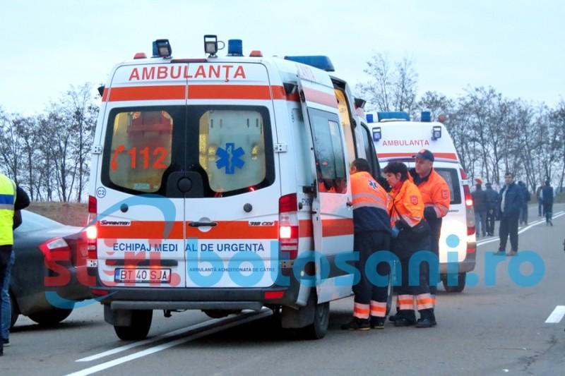 Tânăr în stare critică, trimis la Iași, după ce a căzut ATV-ul peste el!