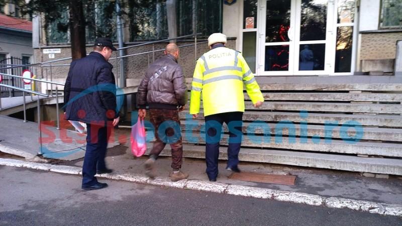 Tânăr reținut pentru tentativa de a tâlhări un bătrân, pe stradă