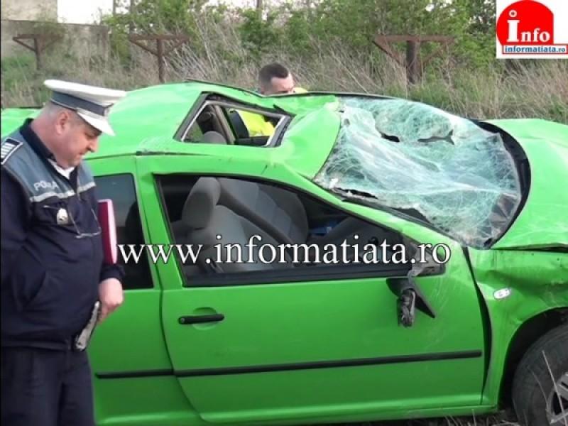 Tânără din județul Botoșani rănită într-un grav accident, provocat de o prietenă minoră! Șoferita a murit!