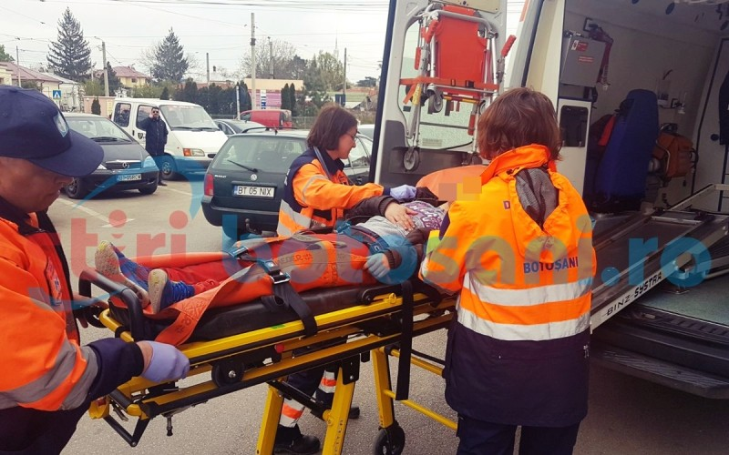 Tanara transportata la spital in coma alcoolica! FOTO