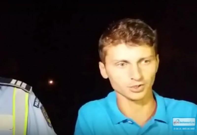 Tânărul care a provocat un accident la beție, pe Bulevardul M. Eminescu, plasat sub control judiciar!