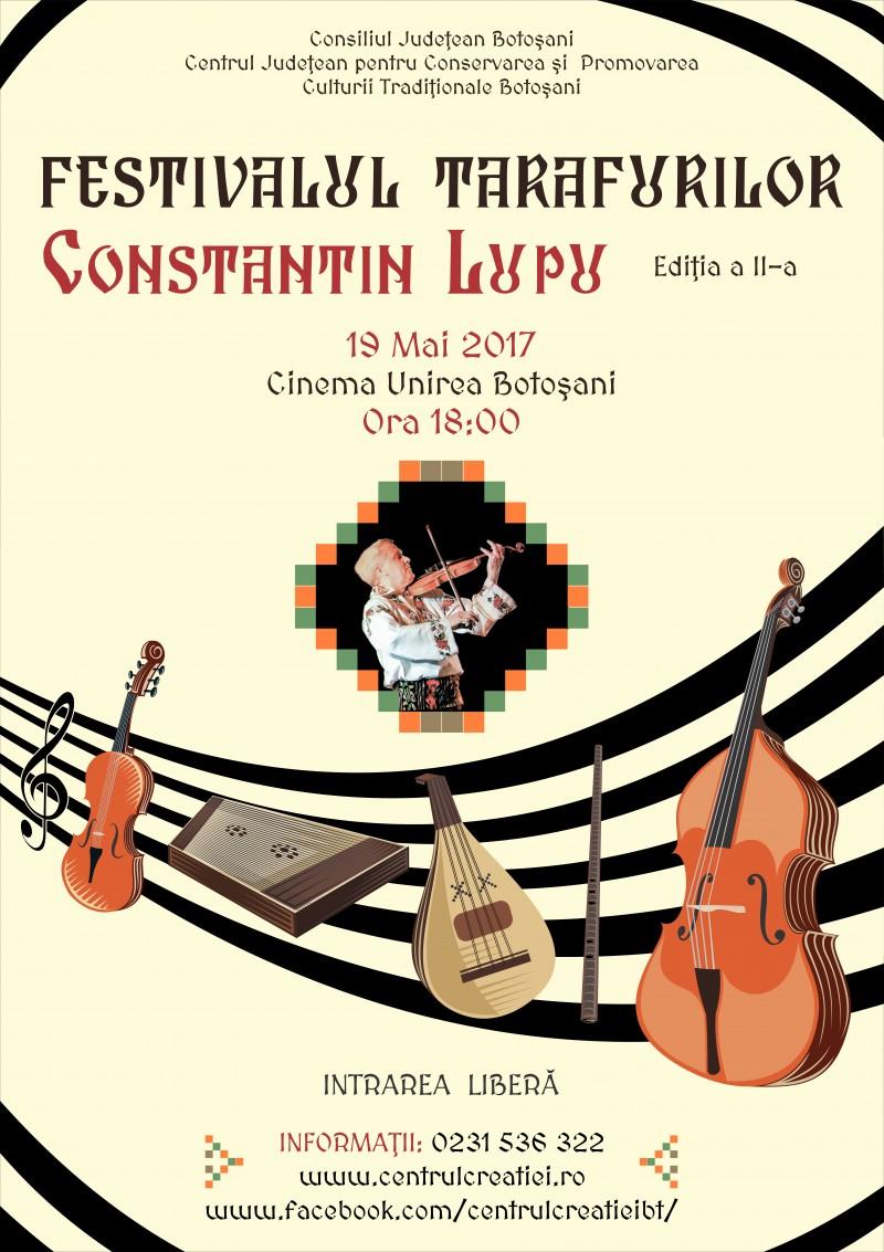 """Tarafuri din patru județe vor evolua, vineri, în cadrul Festivalului """"Constantin Lupu""""!"""