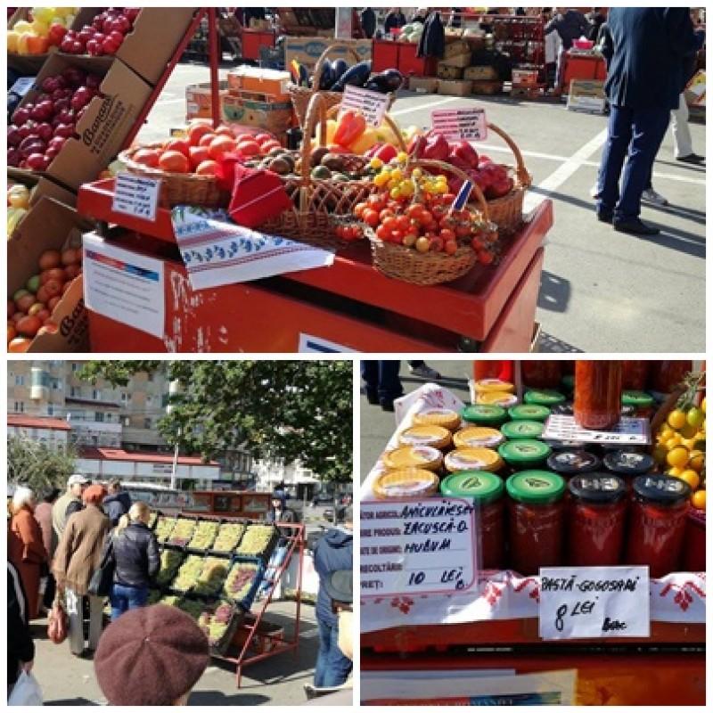 Targ cu produse agroalimentare, deschis la Botoșani. Ce puteți cumpăra! FOTO