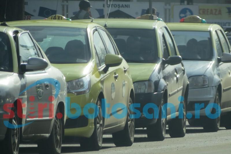 Taximetriștii botoșăneni cer tarife mai mari!