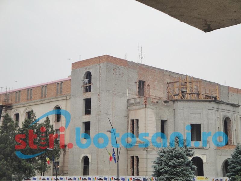 Şansele ca CNI să aloce bani pentru lucrările de la Teatrul M. Eminescu, tot mai mici