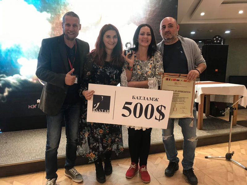 """Teatrul botoșănean, la înălțime: """"Să nu ne răzbunați"""" a obținut Premiul pentru Regie, în capitala Mongoliei"""