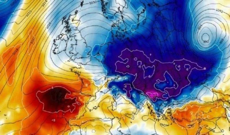 Temperaturi cu minus, lapoviță și ninsori