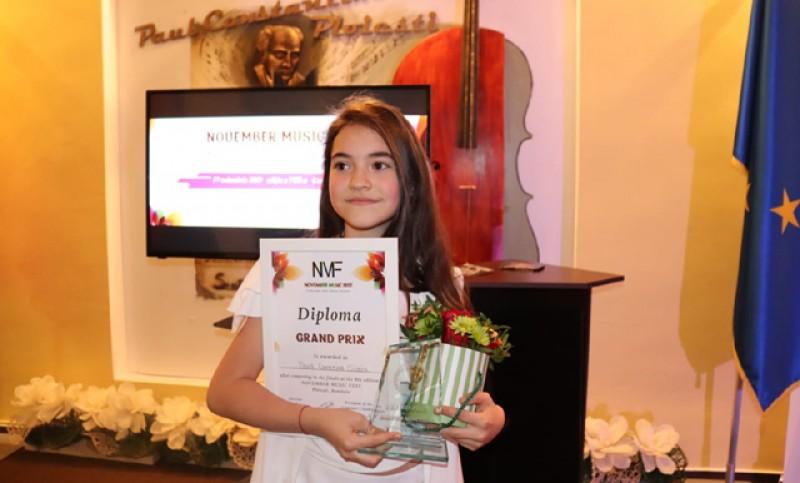 Tiana Cilibiu, Locul I la festivalul Golden Voice din Malta