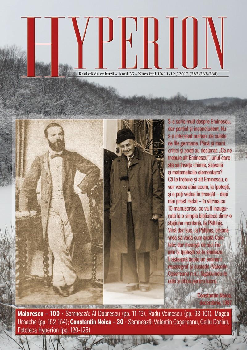 Timp pentru lectură: Hyperion, revista iubitorului de carte
