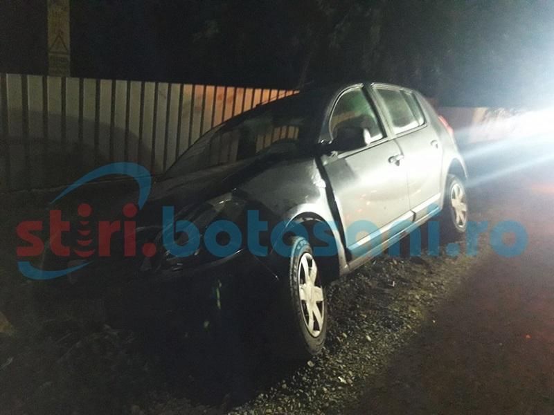 Tinere rănite într-un accident provocat în toiul nopţii de un şofer băut! FOTO