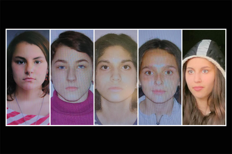 Toate cele cinci minore dispărute la Dorohoi au fost găsite