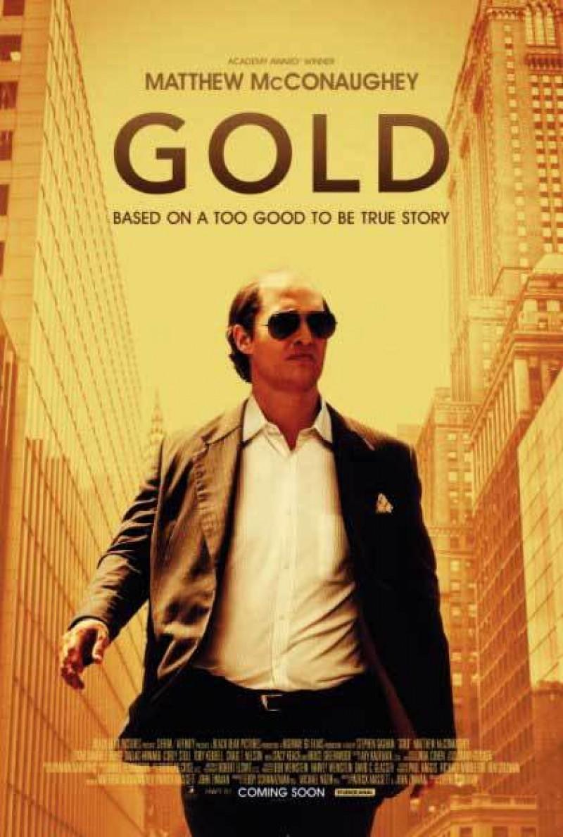 """TODIREL CĂLUGĂRIȚA - Filmul săptămânii: """"Goana după aur"""" – Gold (2016)"""