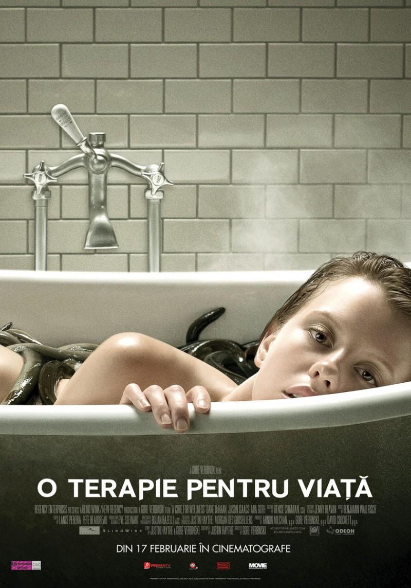 """Todirel CĂLUGĂRIȚA - Filmul săptămânii: """"O terapie pentru viață"""" – A Cure for Wellness (2016)"""