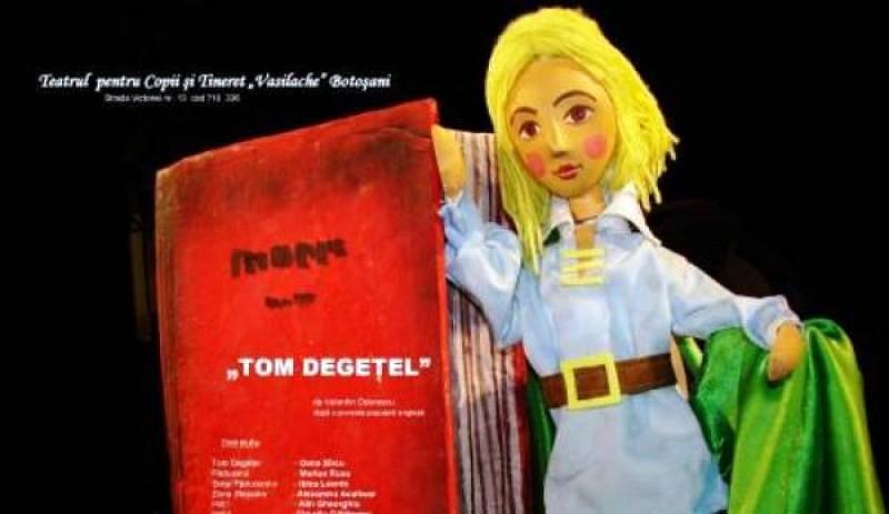 Tom Degețel revine, duminică, pe scena Teatrului Vasilache Botoșani!