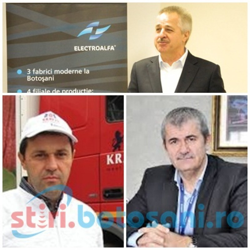 TOP 500 miliardari români: Vezi cine sunt bogaţii Botoşaniului!