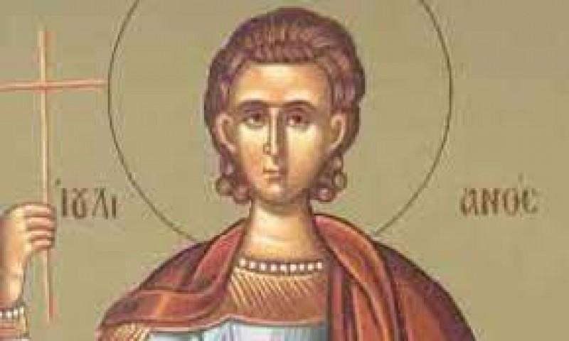 Tradițiile românilor: 21 iunie, Sfântul Mucenic Iulian din Cilicia