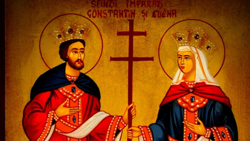 Tradițiile românilor: 21 mai - Sfinții Constantin și Elena