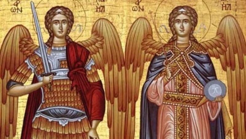 Tradițiile românilor. Astăzi, mare sărbătoare: Sfinții Arhangheli Mihail si Gavriil!