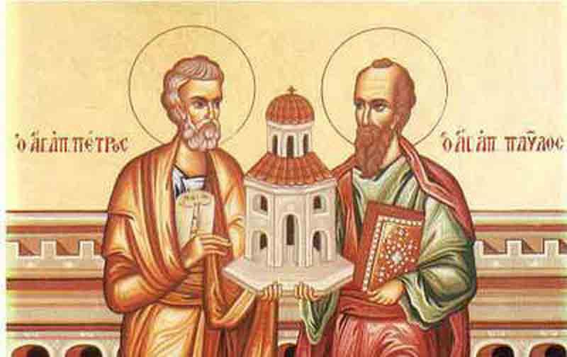Tradițiile românilor: Sfinţii Apostoli Petru şi Pavel
