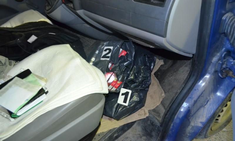 TRAFIC! Ţigări de contrabandă confiscate la frontieră!