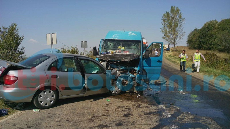 TRAGEDIE! Doi soți și-au pierdut viața pe drumul Botoșani-Iași! Alte două persoane au fost rănite, după impactul violent dintre două mașini! FOTO