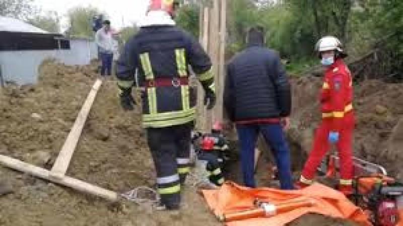 Tragedie la locul de muncă: un botoșănean a fost ucis de un mal de pământ
