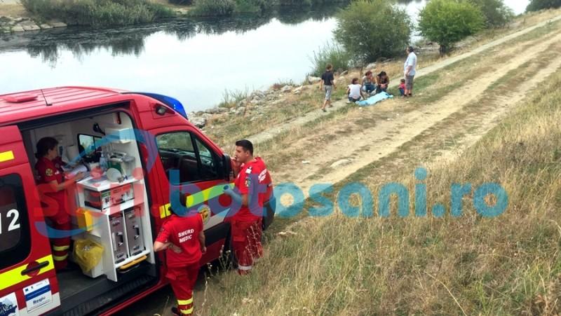 TRAGEDIE la Rogojești! Doi botoșăneni s-au înecat în apa barajului! FOTO