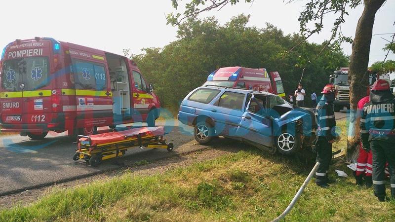TRAGIC! Tânăra rănită în accidentul de la Văculești a decedat! Iubitul și copilul sunt în continuare în comă!