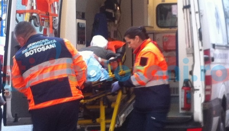 Transferat la Clinica de Neurochirurgie din Iași, din cauza unei lovituri la cap!