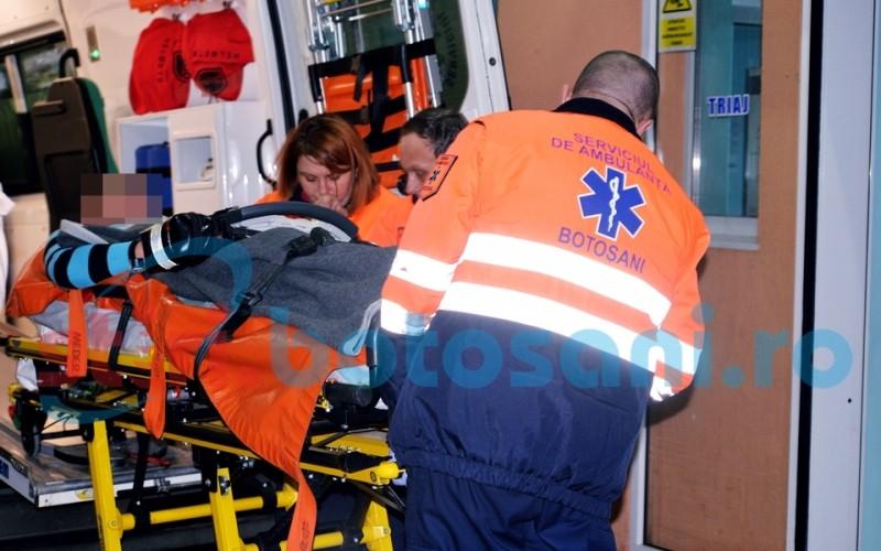 Transportat la spital la miezul noptii, dupa ce l-a muscat calul! FOTO