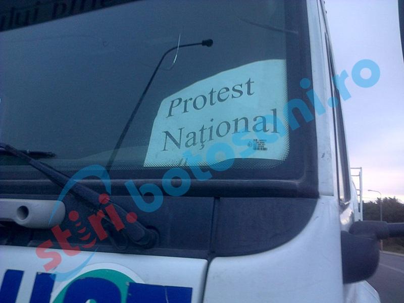 Transportatori din Botoşani, aşteptaţi la un protest de amploare, în Capitală!