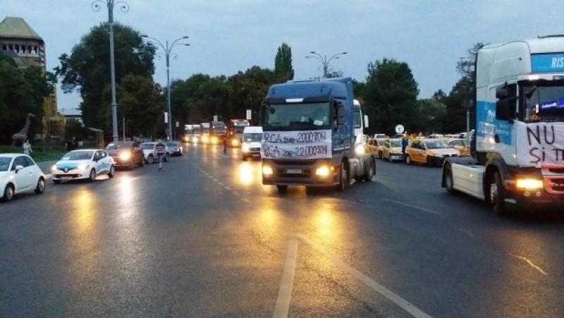 Transportatorii din toată țara anunță proteste în perioada 25-27 septembrie