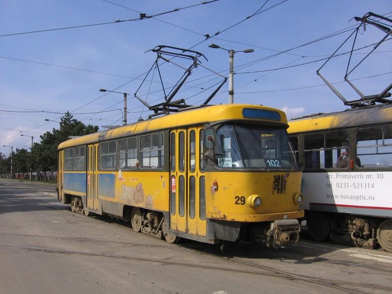 Transportul cu tramvaiul, tot mai problematic la Botoșani