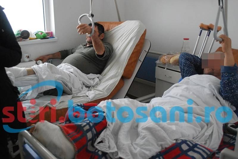 Treburile în gospodărie i-au trimis pe patul de spital!
