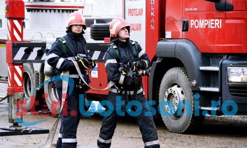 """Trei angajați ai Inspectoratului pentru Situații de Urgență """"Nicolae Iorga"""" al Județului Botoșani au fost confirmați pozitiv la testul cu SARS-CoV-2"""