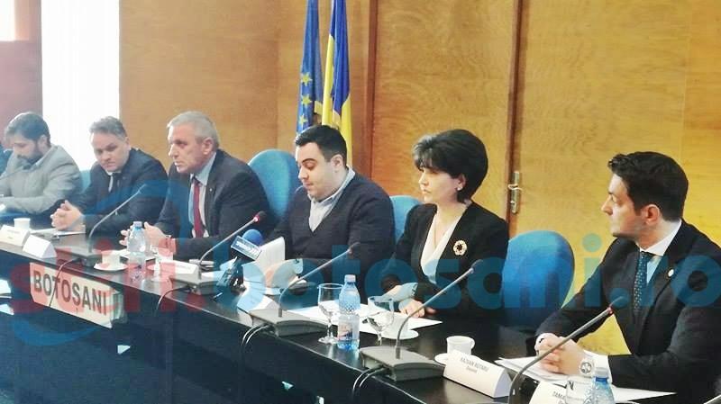 Trei drumuri naționale din județul Botoșani, în atenția ministrului transporturilor