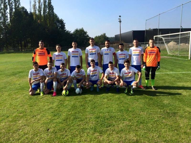 Trei frați din Botoșani, în campionatul regional belgian: FC România Bruxelles! Povestea echipei cu români din toată țara! FOTO, AUDIO