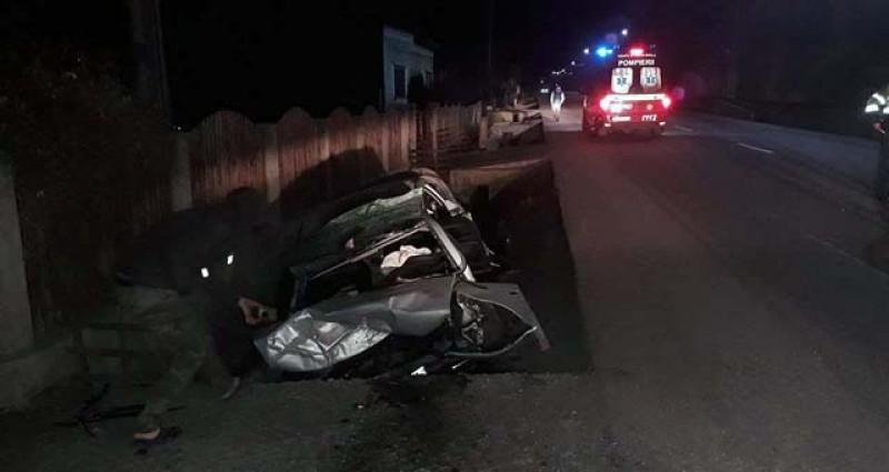 Trimis la Iași, în comă de gradul 4, cu traumatisme craniene și faciale grave după un accident rutier!