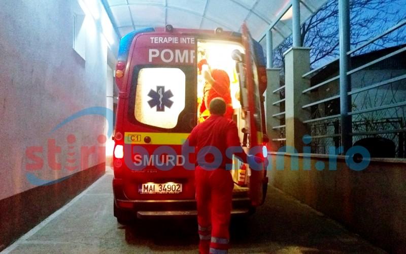 Trimis la Iași în stare gravă, după ce a fost atacat de un porc din gospodărie!