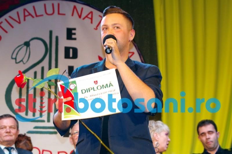 "TROFEUL Festivalului ""Martisor Dorohoian"" a ajuns la Johnny Badulescu! Vezi ceilalti PREMIANTI! FOTO, VIDEO"