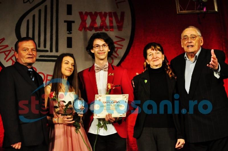 """TROFEUL Festivalului """"Mărţişor Dorohoian"""" a rămas pentru prima oară la Dorohoi! Vezi cine sunt câștigatorii! FOTO"""
