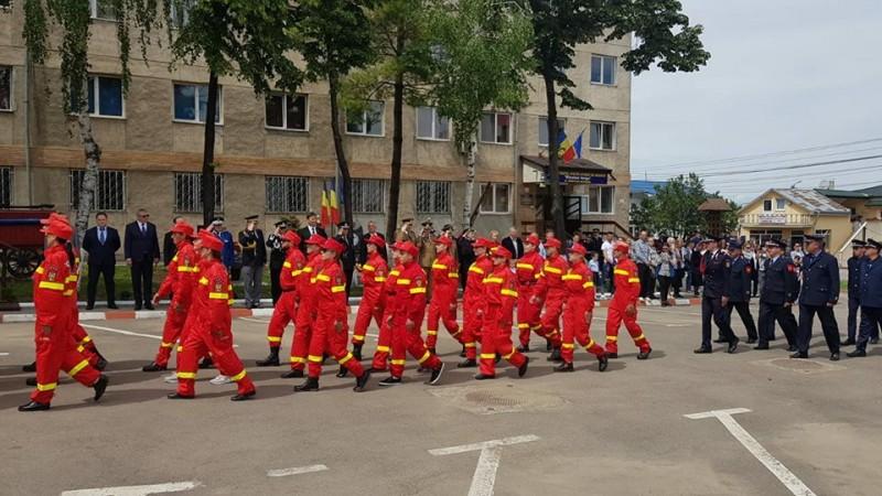 Troiță înălțată în memoria eroilor pompieri din Botoșani - FOTO