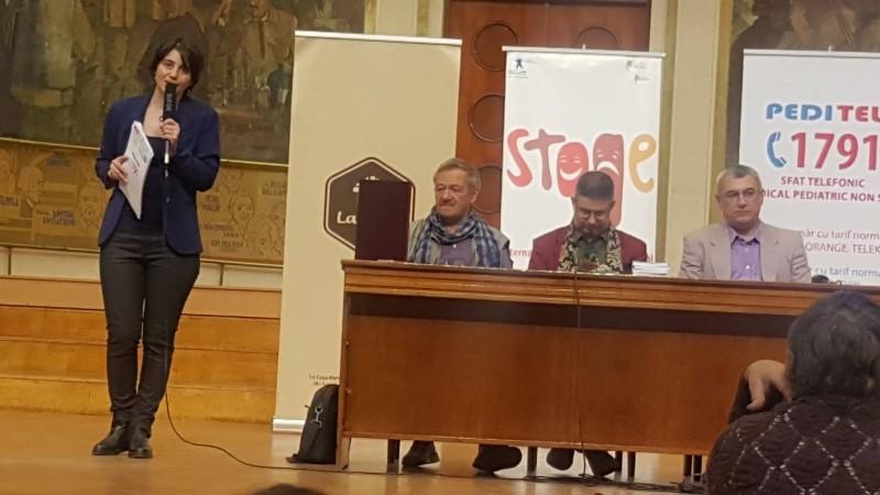 Trupa Katharsis a Colegiului Laurian a urcat pe podiumul unui festival internaţional de teatru! FOTO