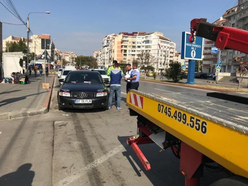 """TUPEU sancționat cu dosar penal: Au fugit din fața polițiștilor, după un """"spectacol"""" în trafic!"""